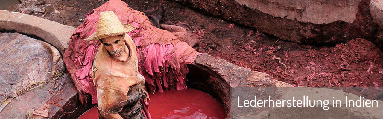 Lederherstellung in Indien
