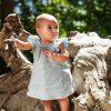 Süßes Baby-Kleidchen aus 100% Bio-Leinen