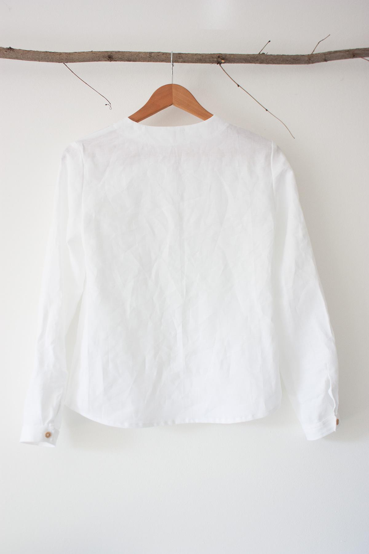 """Damen-Bluse """"Silene"""" Weiß von Scheinheilig"""