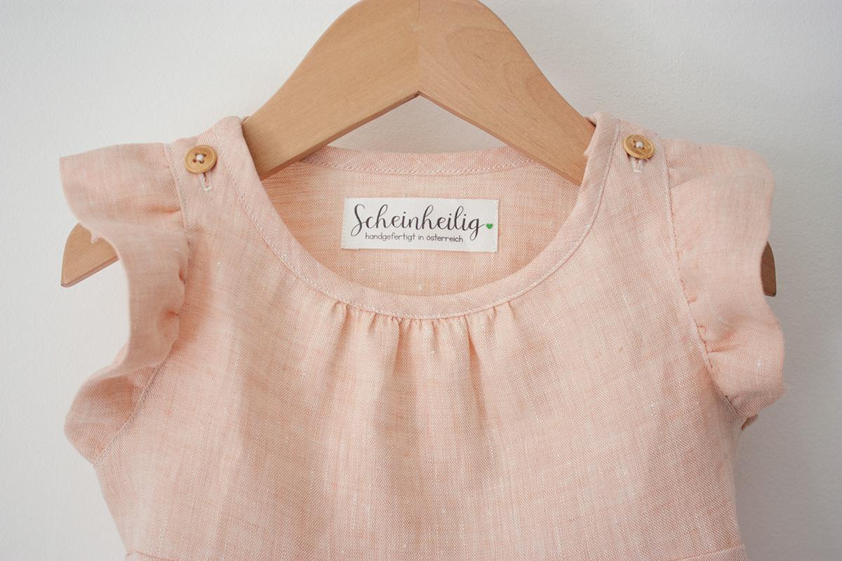 """Baby-Kleid """"Rosa"""" Apricot von Scheinheilig"""