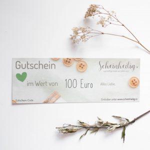 Wertgutschein 100€ von Scheinheilig