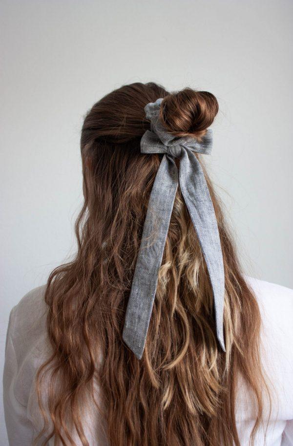 Haarband aus Bio-Leinen